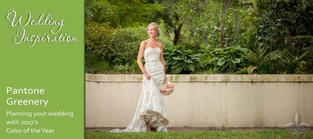 pantone greenery wedding inspiration