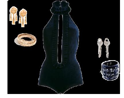velvet bodysuit boudoir inspiration