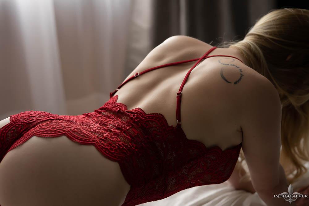 boudoir with tattoos