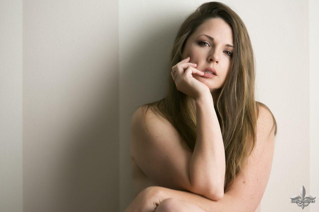 Self portrait of the author Lori Unruh Poole