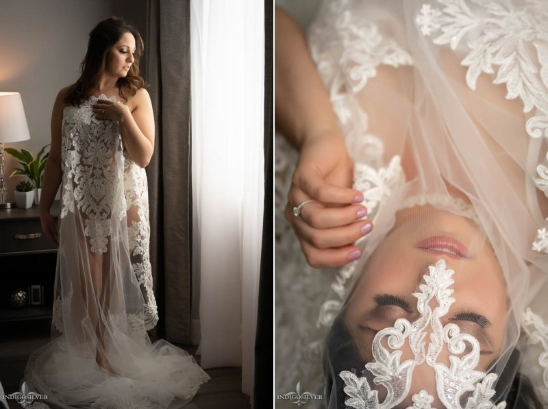 North Carolina bridal boudoir